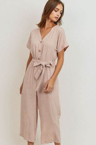 Catrina Striped Jumpsuit