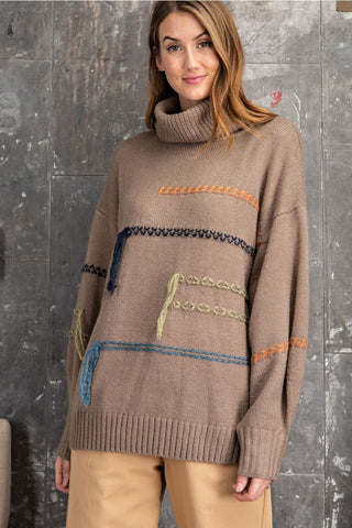 Danni Threaded Sweater