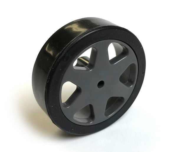 High grip, lightweight, strong silicone tires and wheels