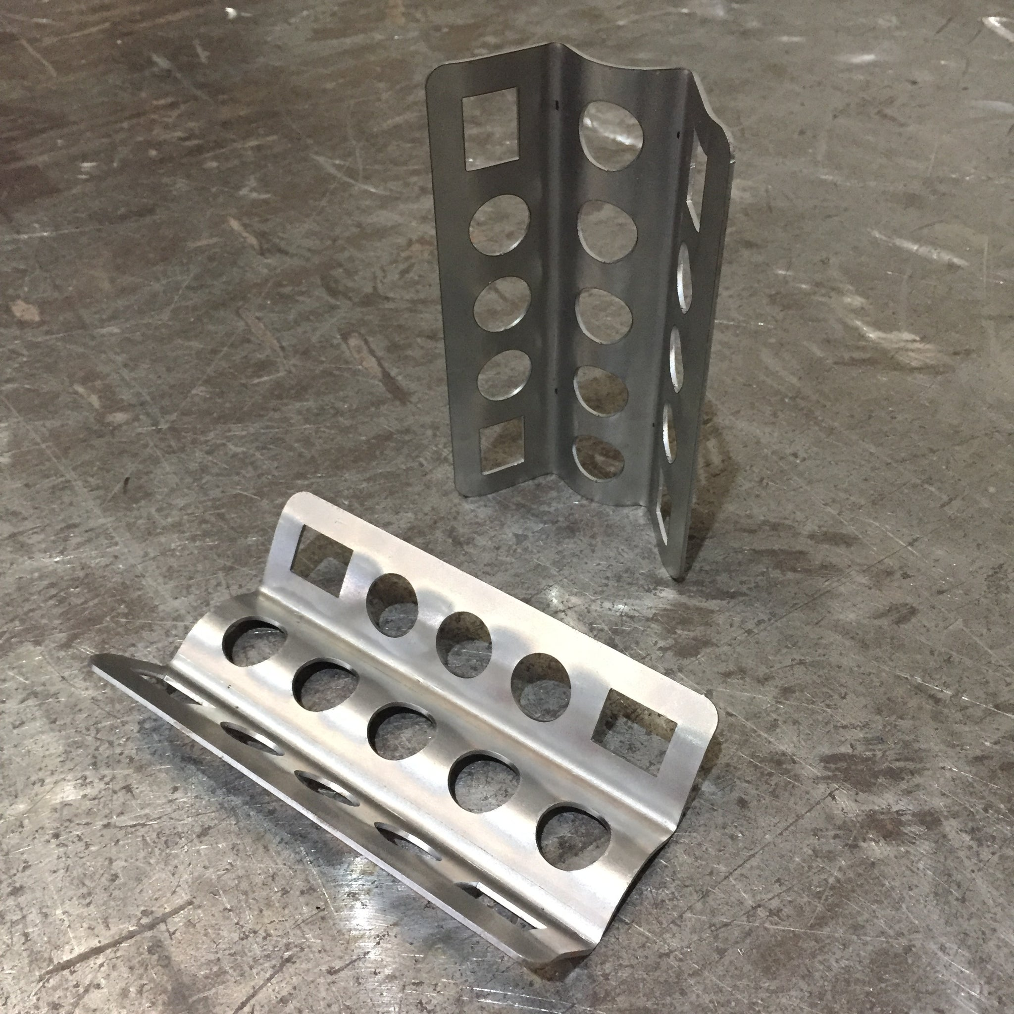 Weld on Bottle Bracket