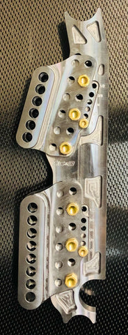 Billet Adjustable 4 Link Chassis Brackets