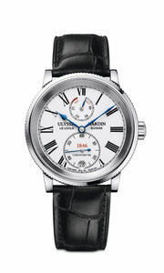 Ulysse Nardin's Marine 1846 Watch Blends Artistic Panache and Technology