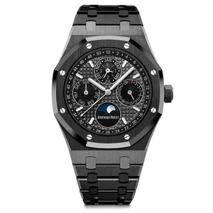 The Audemars Piguet Royal Oak Perpetual Calendar in Black Ceramic