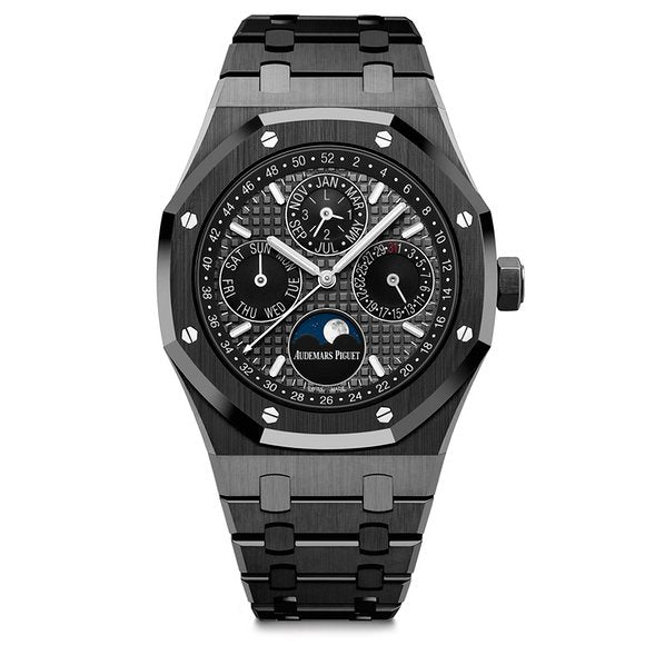 Meet The Audemars Piguet Royal Oak Perpetual Calendar in Black Ceramic