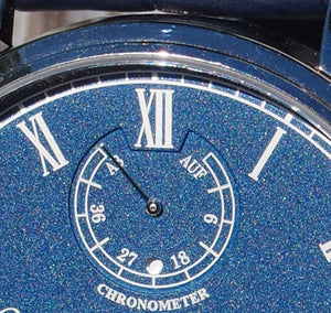 Chronometer roots date