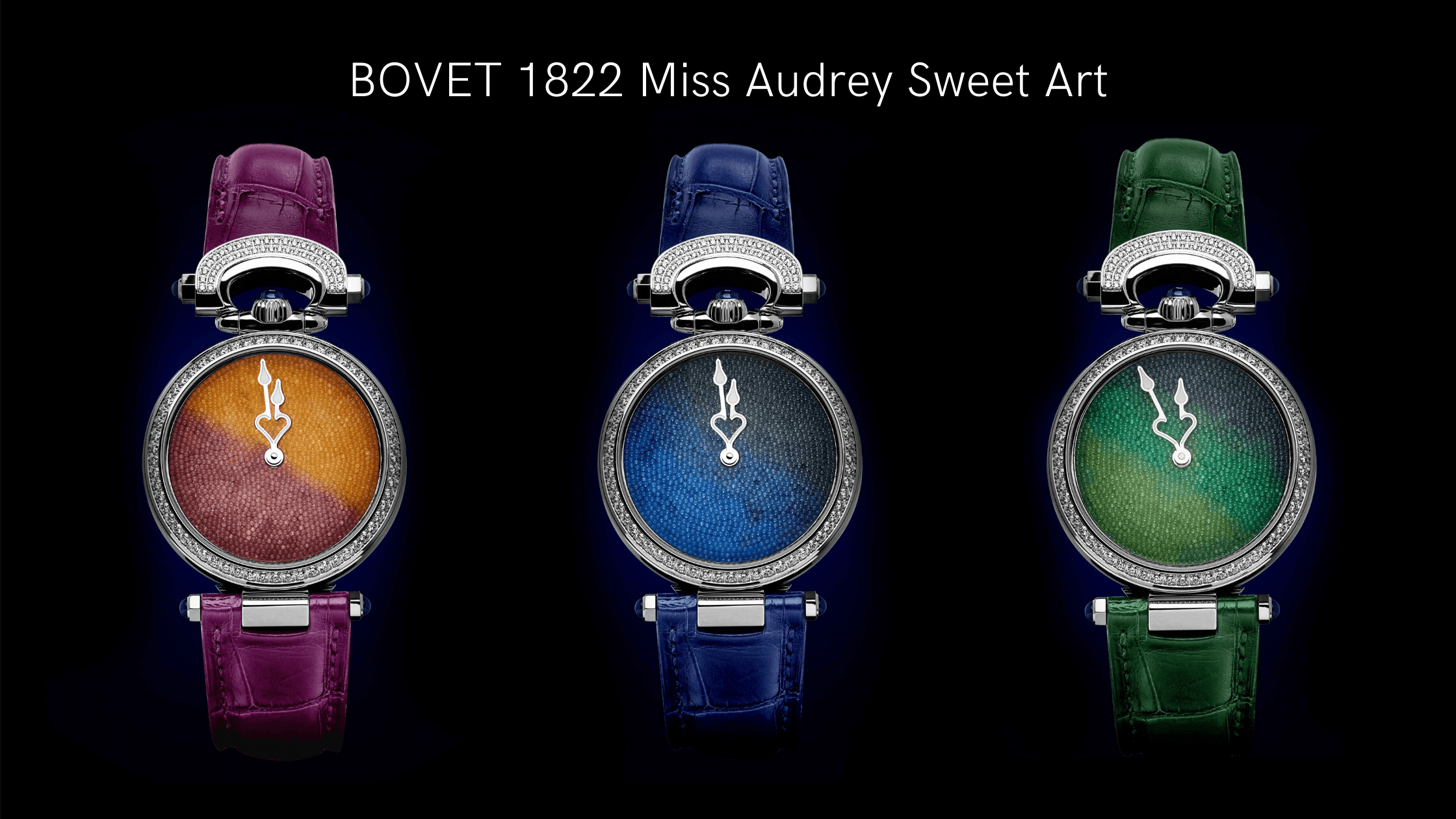 bovet sweet art watch dial color options