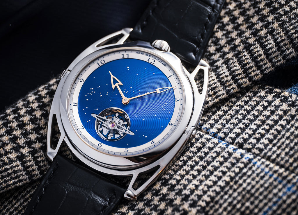 De Bethune ultra thin blue