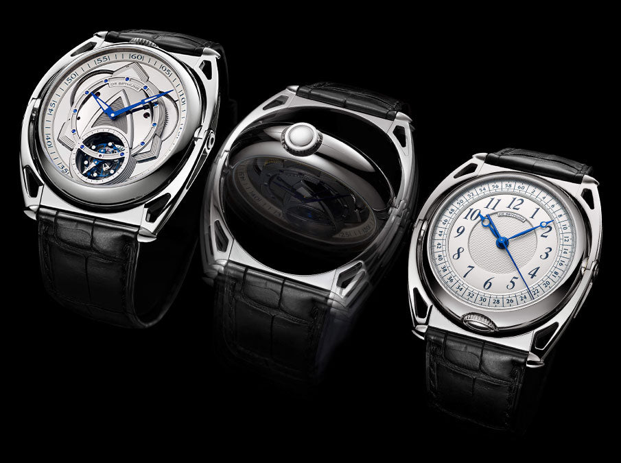 De Bethune Kind of Two front and back