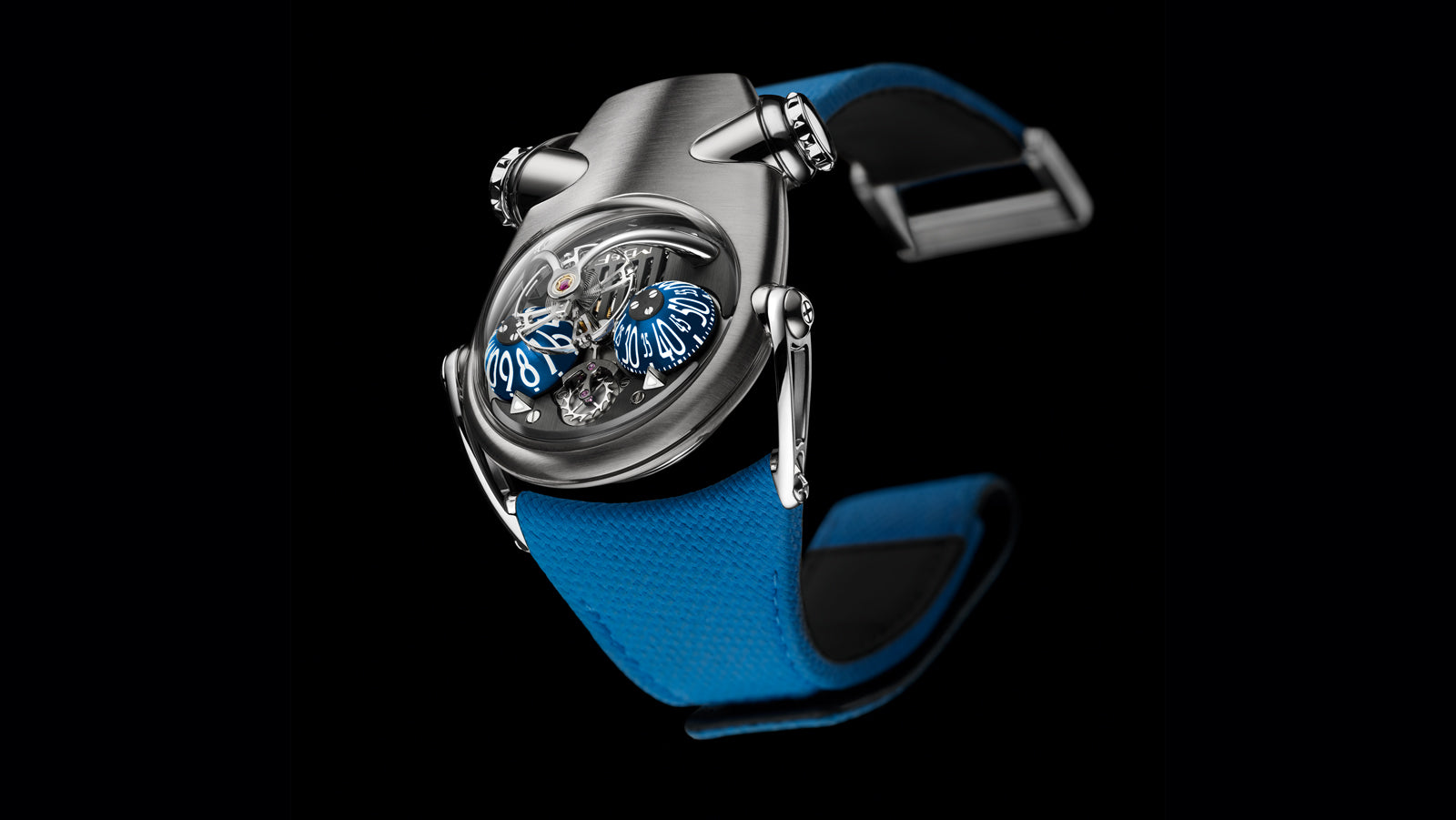 MB&F HM10 watch soldier shot Stephen Silver