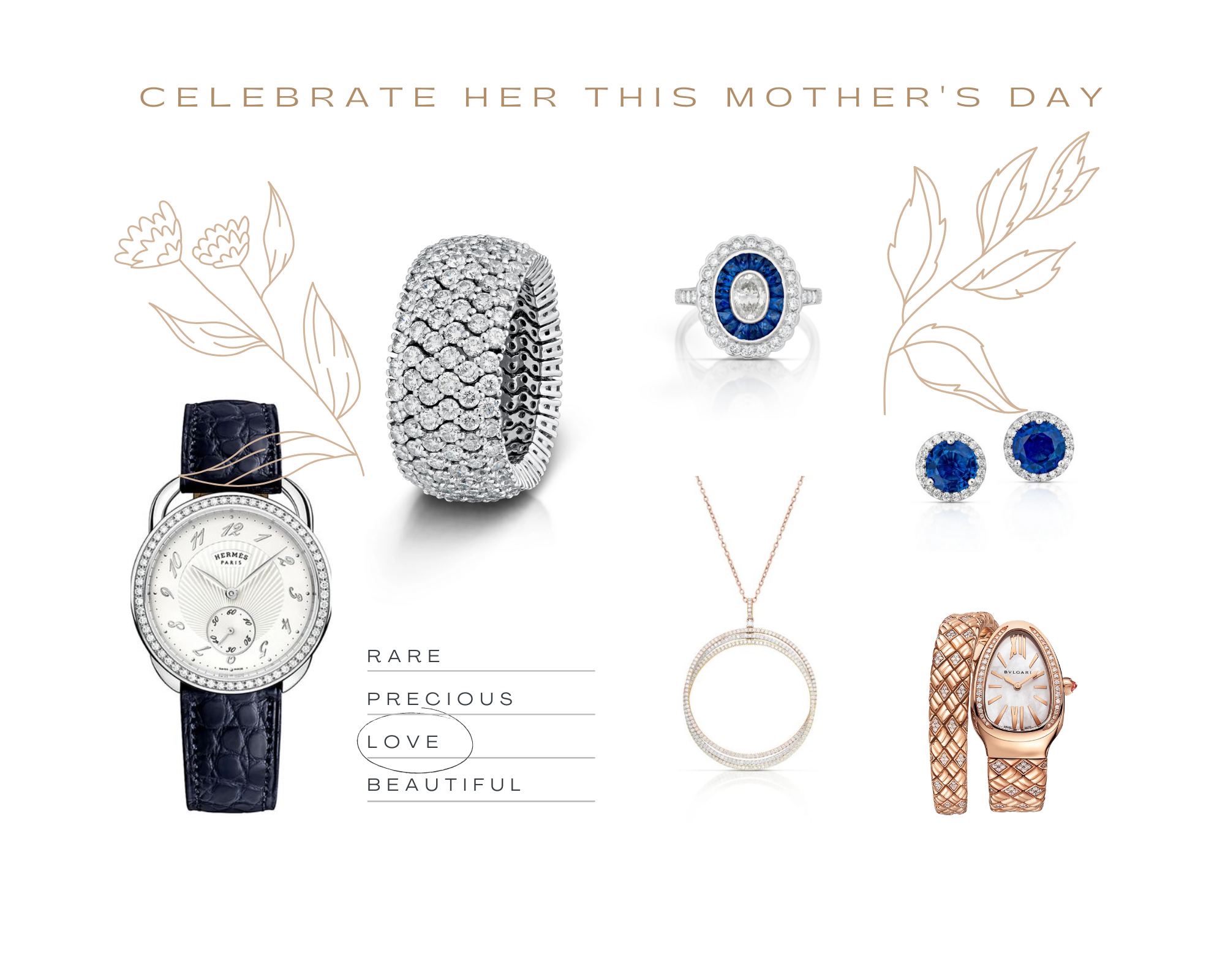Mother's day Stephen Silver jewelry