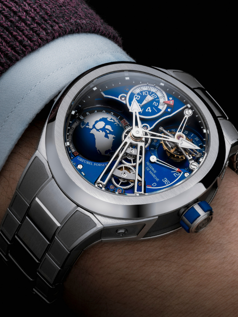 greubel forsey gmt sport watches and wonders stephen silver