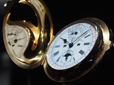 Grand Complication pocket watch from Jaeger-LeCoultre, 1895