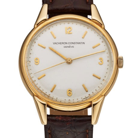 Vacheron Constantin Honeycomb dial yellow gold watch