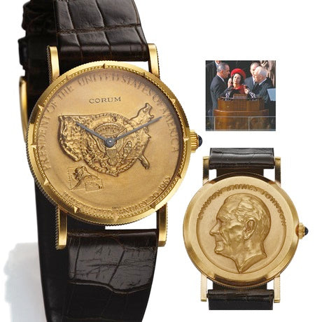 """Important Modern & Vintage Timepieces"" auction"