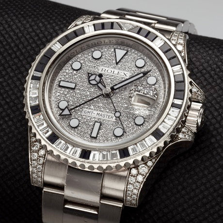 The Rolex Ref. 116599 Daytona Baguette Diamond Ruby watch