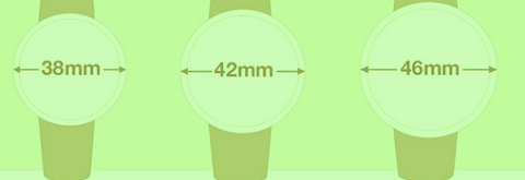 Watches Sizes