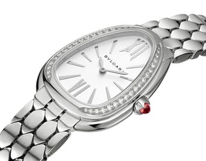 Bulgari Serpenti Seduttori Stainless Steel with Diamonds