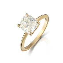 Cushion Cut Diamond Solitiare Ring