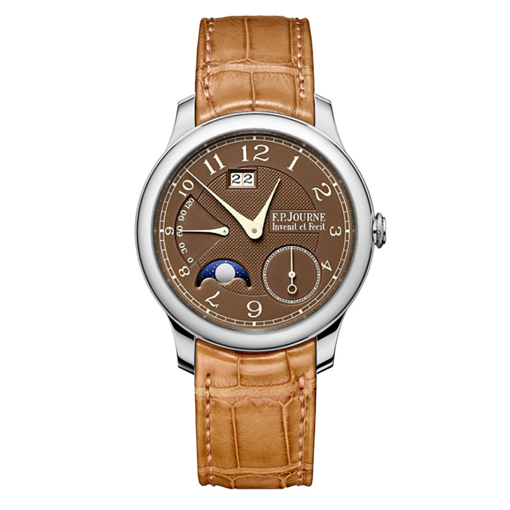 F.P. Journe Octa Automatique Lune Havana in Platinum