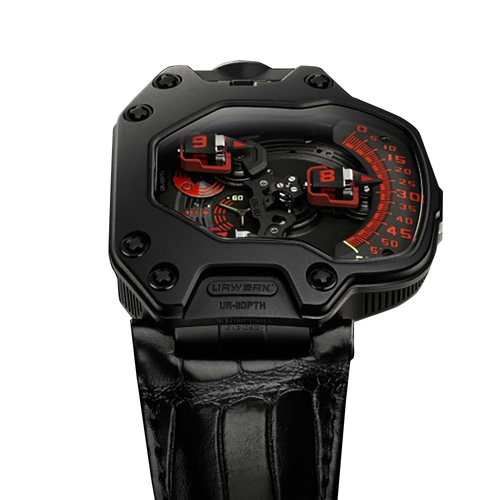 Urwerk UR110 Torpedo in Platinum and Titanium