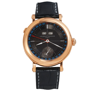Laurent Ferrier Galet Montre Ecole in Rose Gold and Anthracite Dial