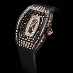 Richard Mille RM037 in Rose Gold and NTPT with Diamonds