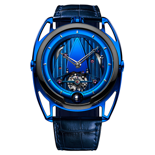 De Bethune DB28 Kind of Blue in Blued Titanium