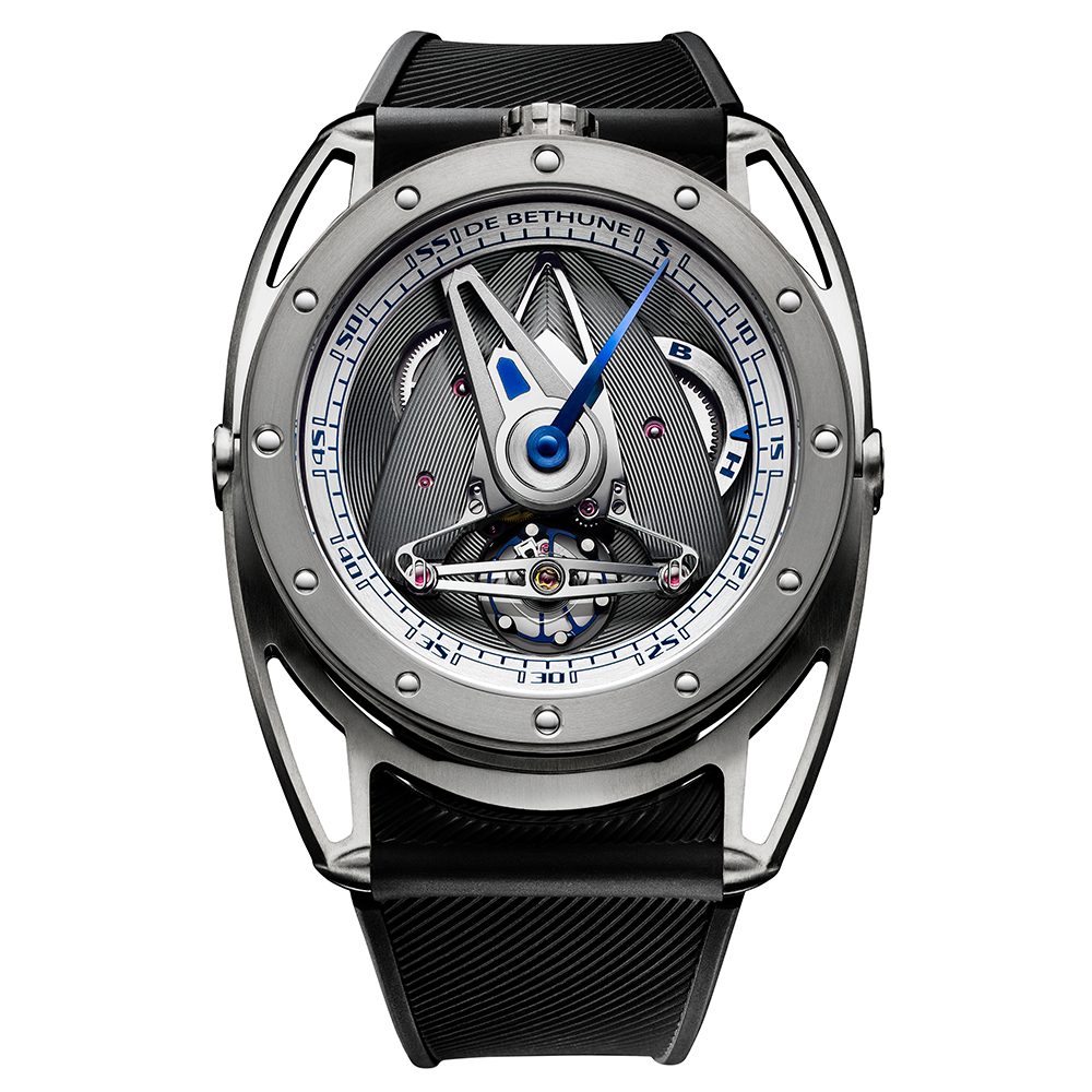 De Bethune DB28 Grand Sailer in Titanium