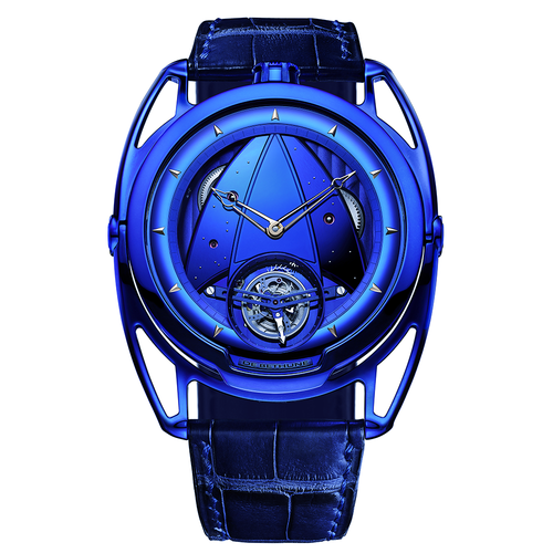 De Bethune DB28 Kind of Blue Tourbillon in Titanium