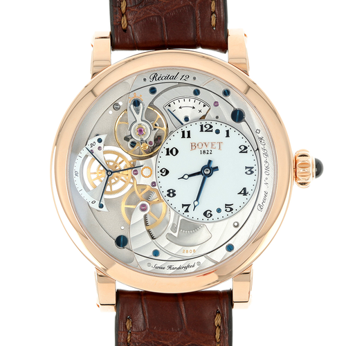 Bovet Dimier 1738 Recital 12 in Rose Gold