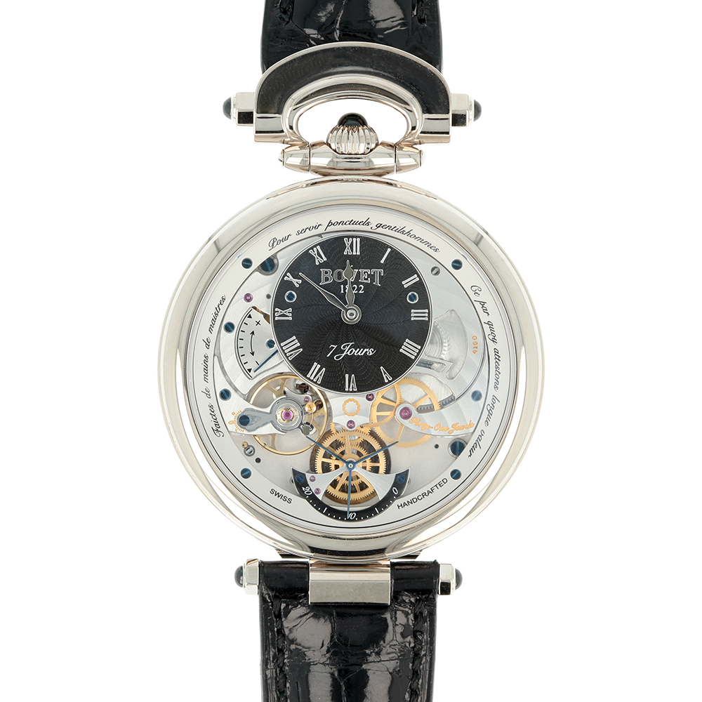 Bovet Fleurier in White Gold