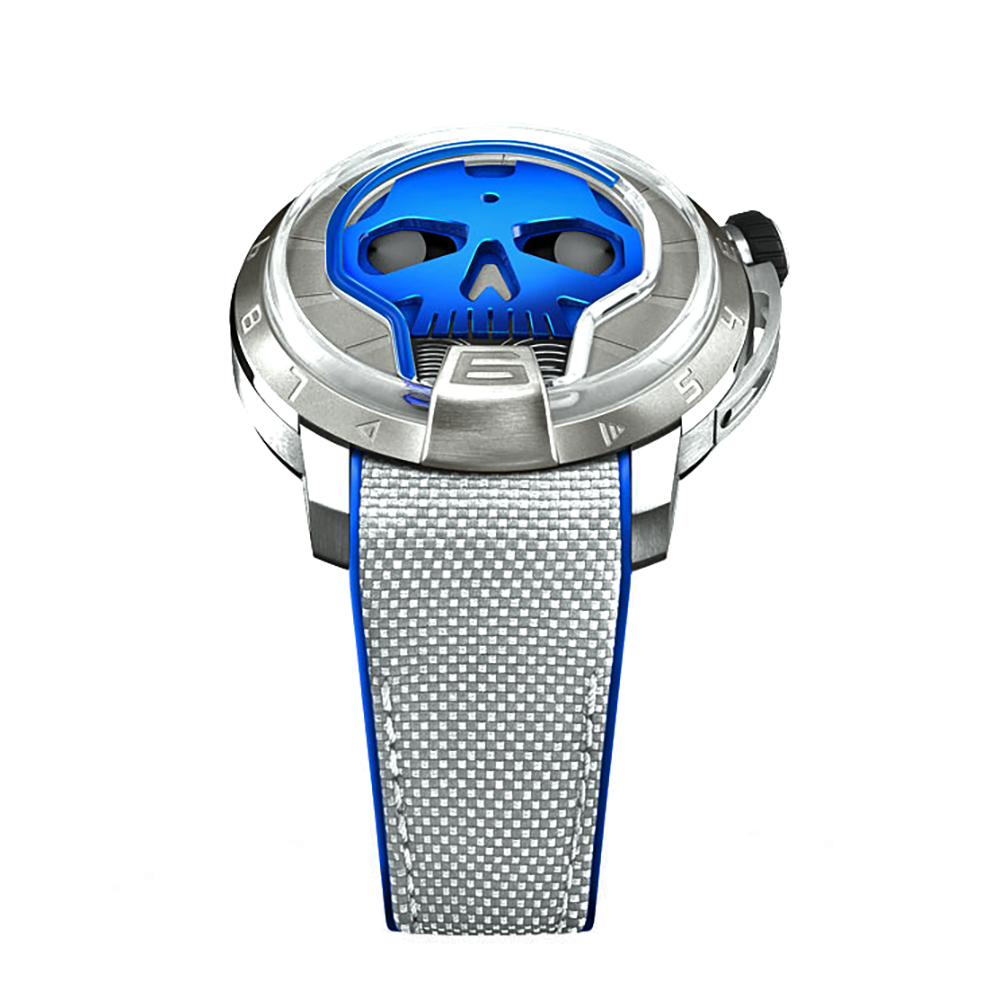 HYT Skull in Titanium Blue