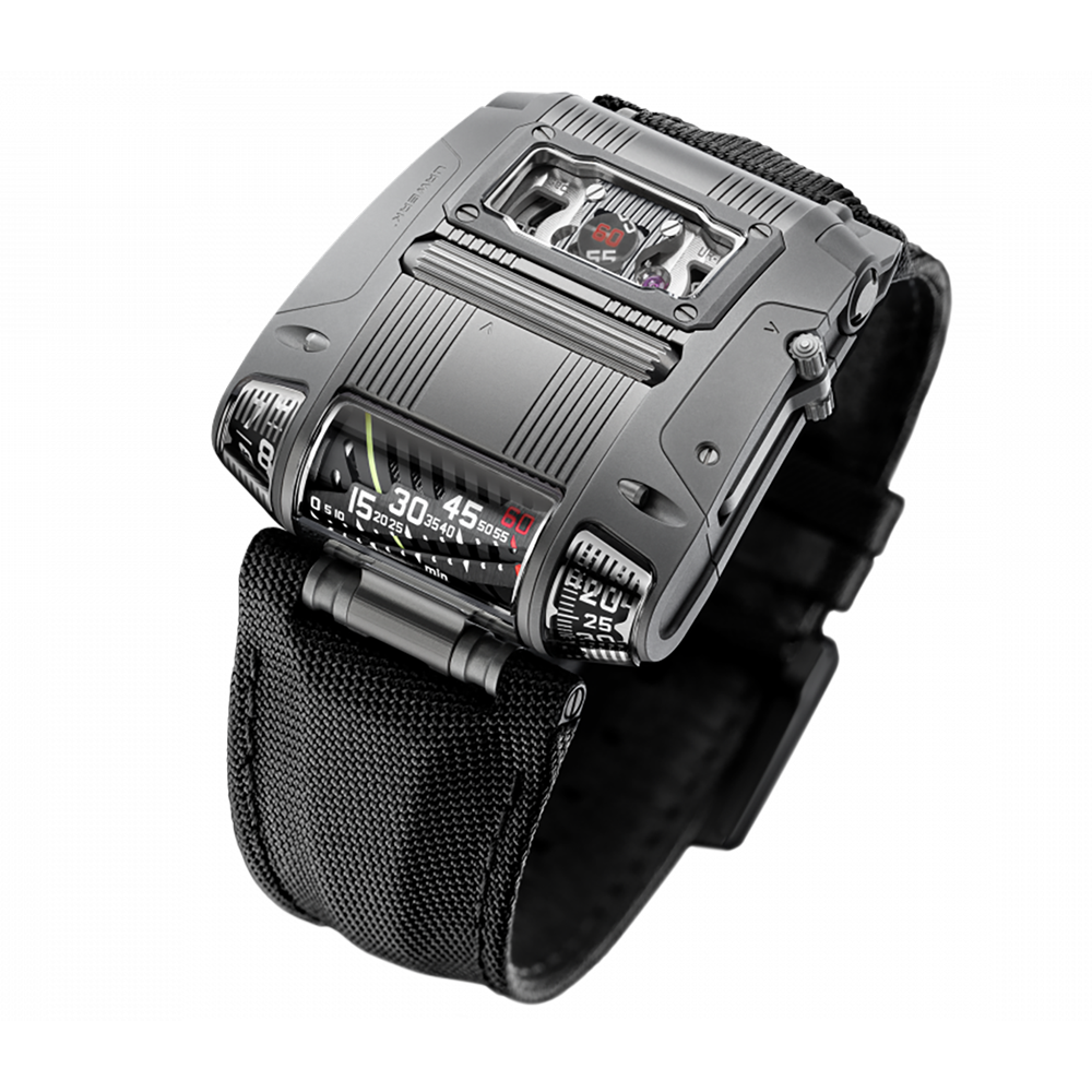 Urwerk Cobra UR111C in Gunmetal