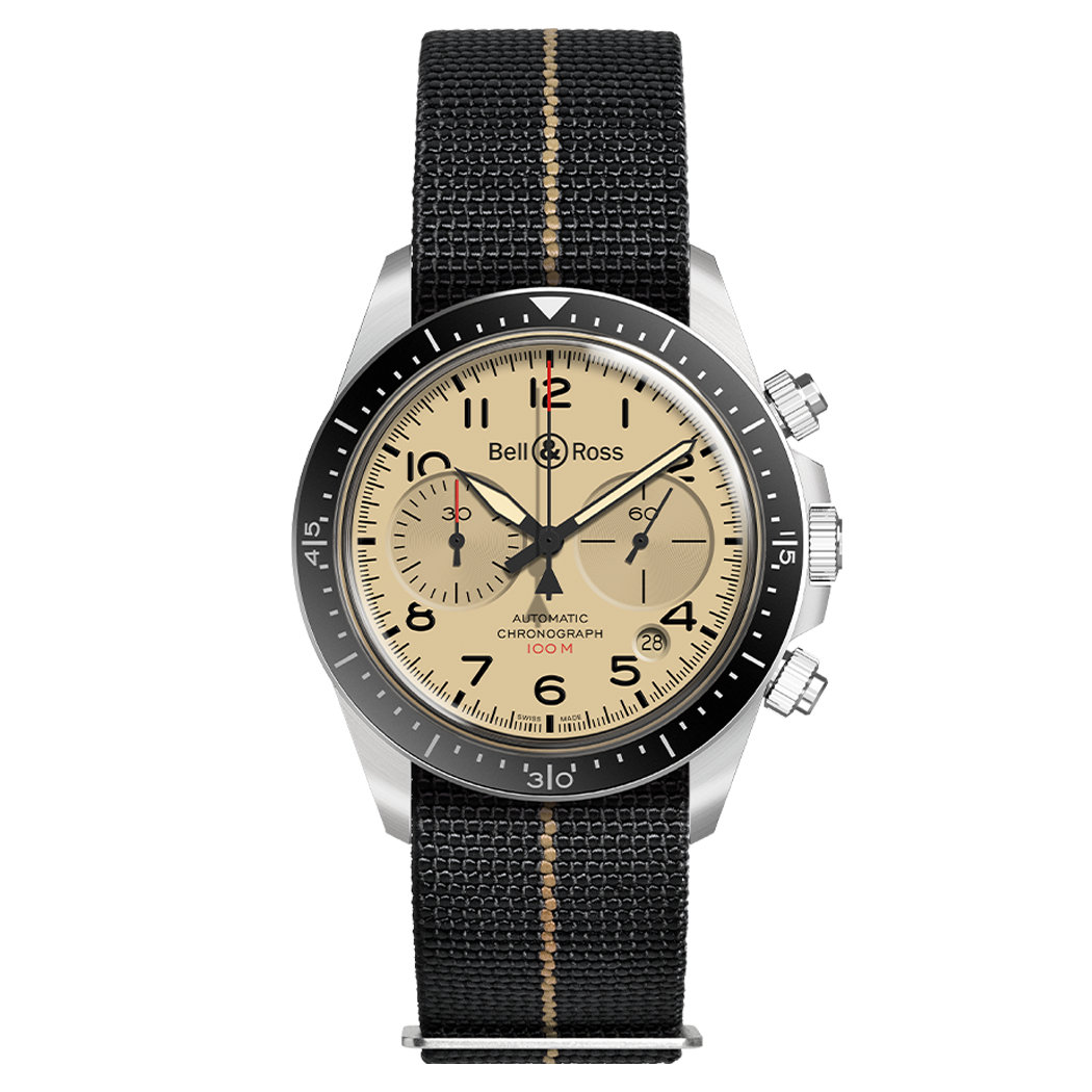 Bell & Ross BRV2-94 MILITARY BEIGE
