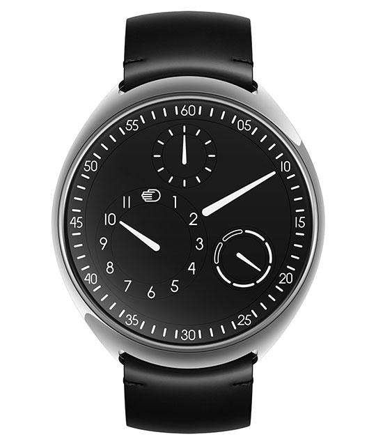 Ressence Type 1 Slim Black in Titanium