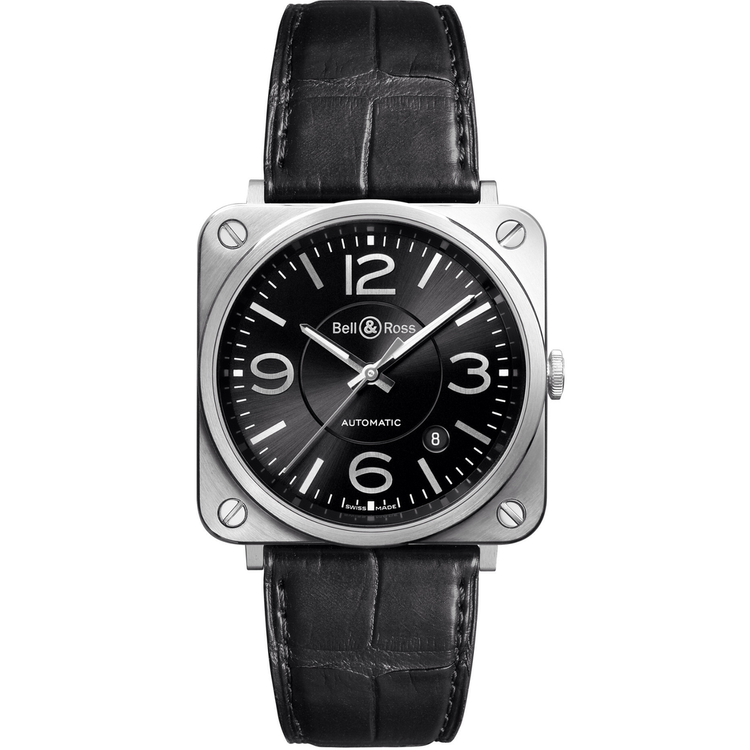 Bell & Ross BRS-92 BLACK OFFICER