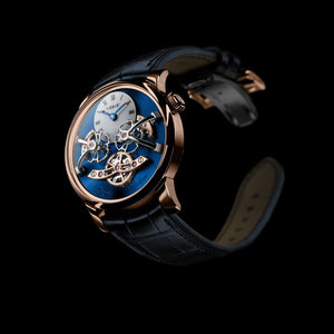 MB&F Legacy Machine 2 in Rose Gold