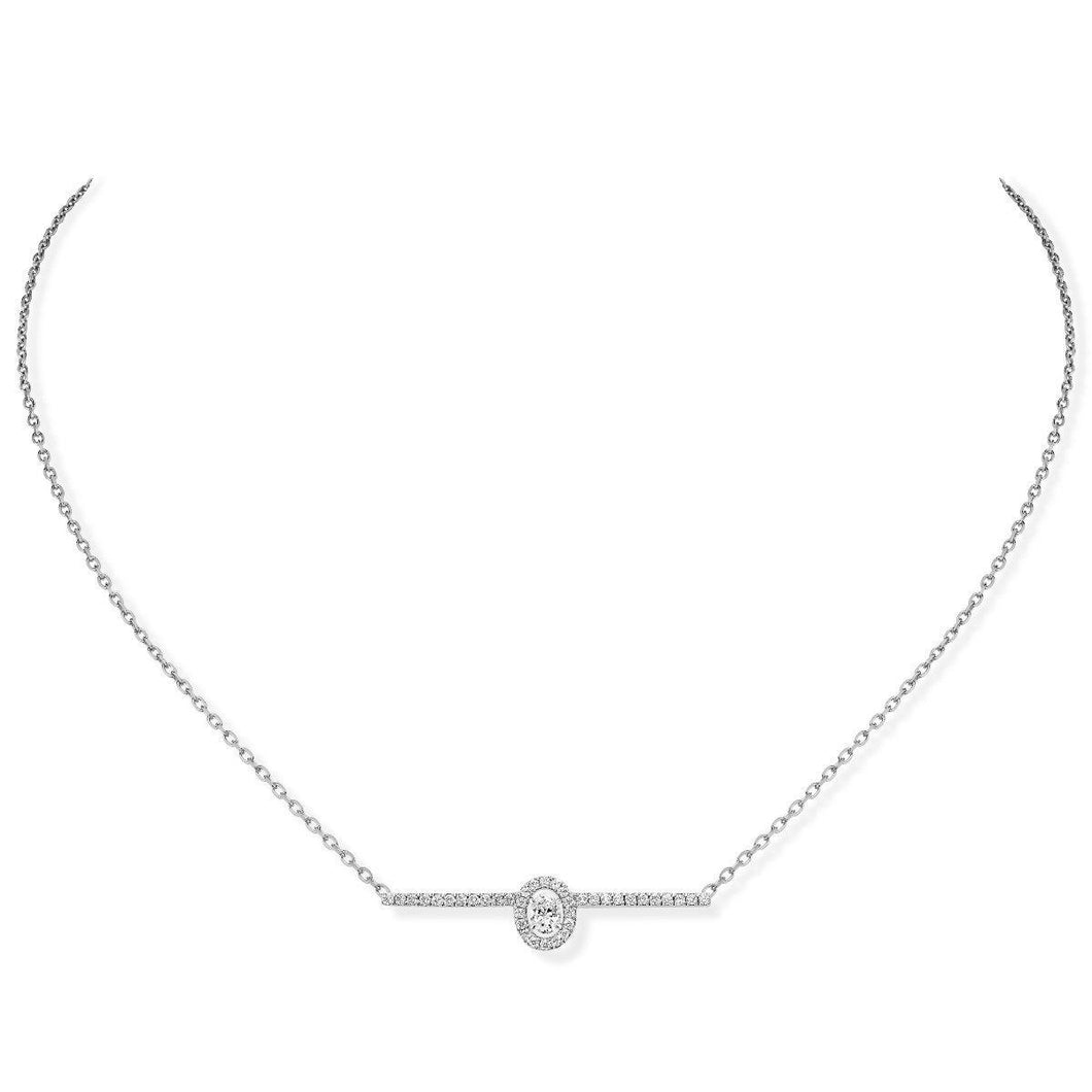 Messika Glam'Azone Pavé Diamond Necklace
