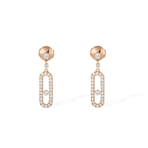 Messika Move Uno Pavé Diamond Earrings