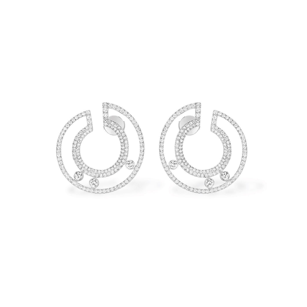 Messika Move Romane Diamond Earrings