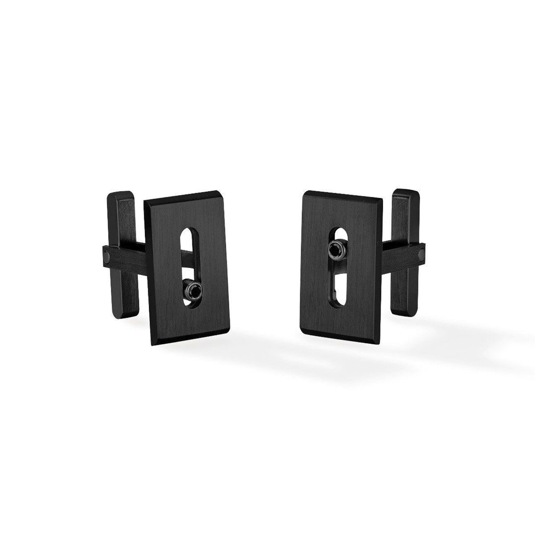 Messika Move Black Titanium Cufflinks
