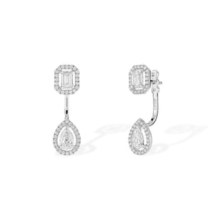Messika My Twin Toi & Moi Diamond Earrings