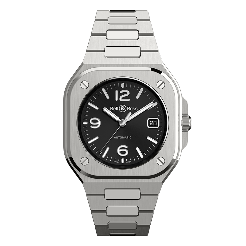Bell & Ross BR05 BLACK STEEL