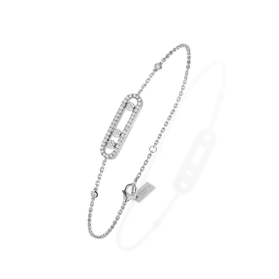 Messika Baby Move Pavé Diamond Bracelet