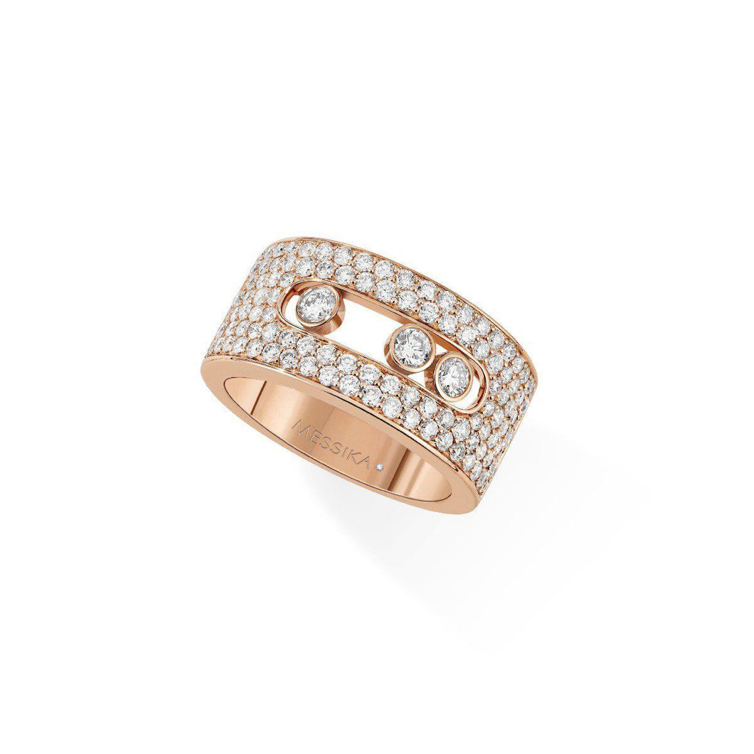 Messika Move Pavé Medium Diamond Ring