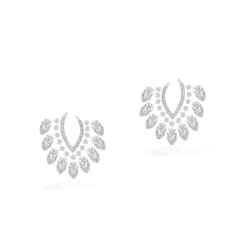Messika Desert Bloom Large Diamond Earrings