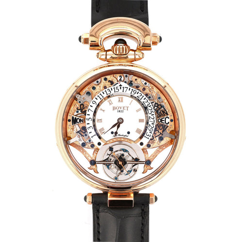 Bovet Virtuoso III in Rose Gold