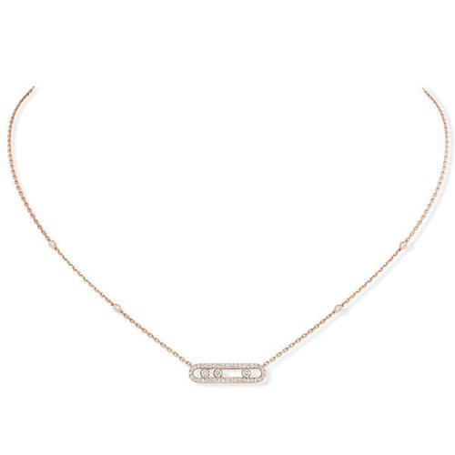 Messika Baby Move Pavé Diamond Necklace