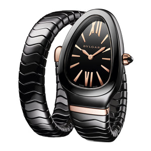 Bulgari Serpenti Spiga Black Ceramic