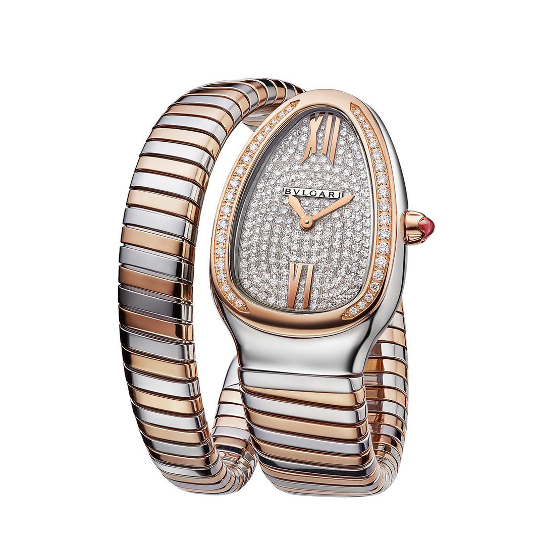 Bulgari Serpenti Tubogas Pavé Diamond Dial